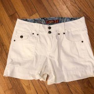 Pants - NWOT SUPER CUTE white shorts.
